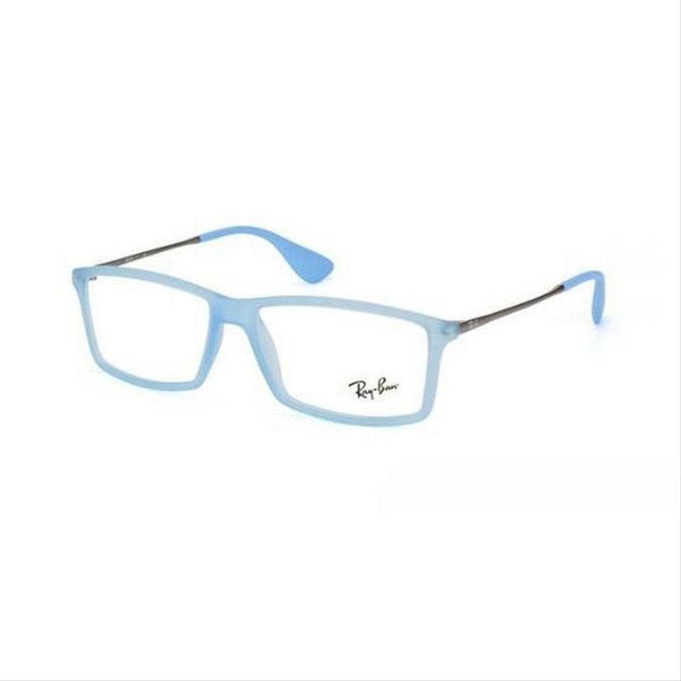 Ray-Ban Rx7021-5370 Matthew Men\'s Blue Frame Clear Lens Sunglasses ...