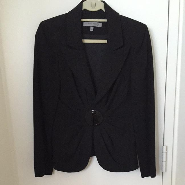 Preload https://item2.tradesy.com/images/anne-klein-black-very-fitted-classic-flattering-jacket-pant-suit-size-4-s-2292871-0-0.jpg?width=400&height=650