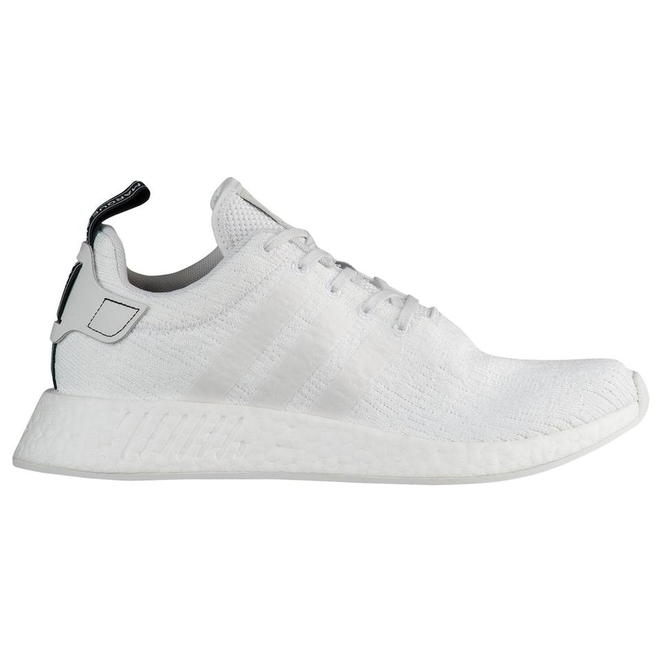 low priced 9af17 dfd25 adidas White Nmd R2 Primeknit Triple Sneakers Size US 7.5 Regular (M, B)  39% off retail
