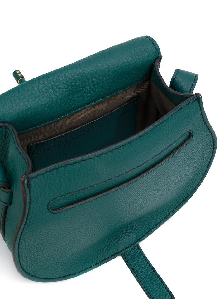 Marcie Bag Small Chloé Cross Leather Green Teal Body Bw4ddxz0q