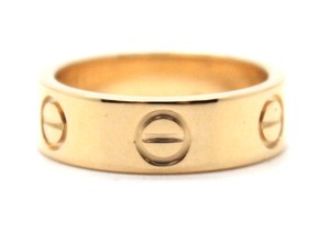 Cartier Yellow 18K gold Love band ring size 49 5.5mm wide