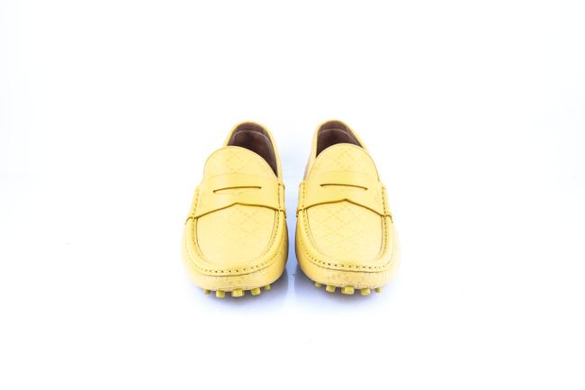 Gucci * Yellow Diamante Leather Driver Shoes Gucci * Yellow Diamante Leather Driver Shoes Image 2