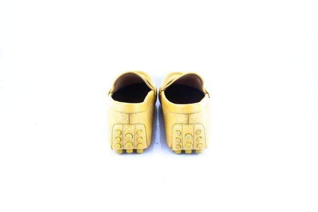 Gucci * Yellow Diamante Leather Driver Shoes Gucci * Yellow Diamante Leather Driver Shoes Image 5