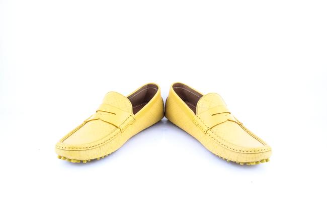 Gucci * Yellow Diamante Leather Driver Shoes Gucci * Yellow Diamante Leather Driver Shoes Image 6