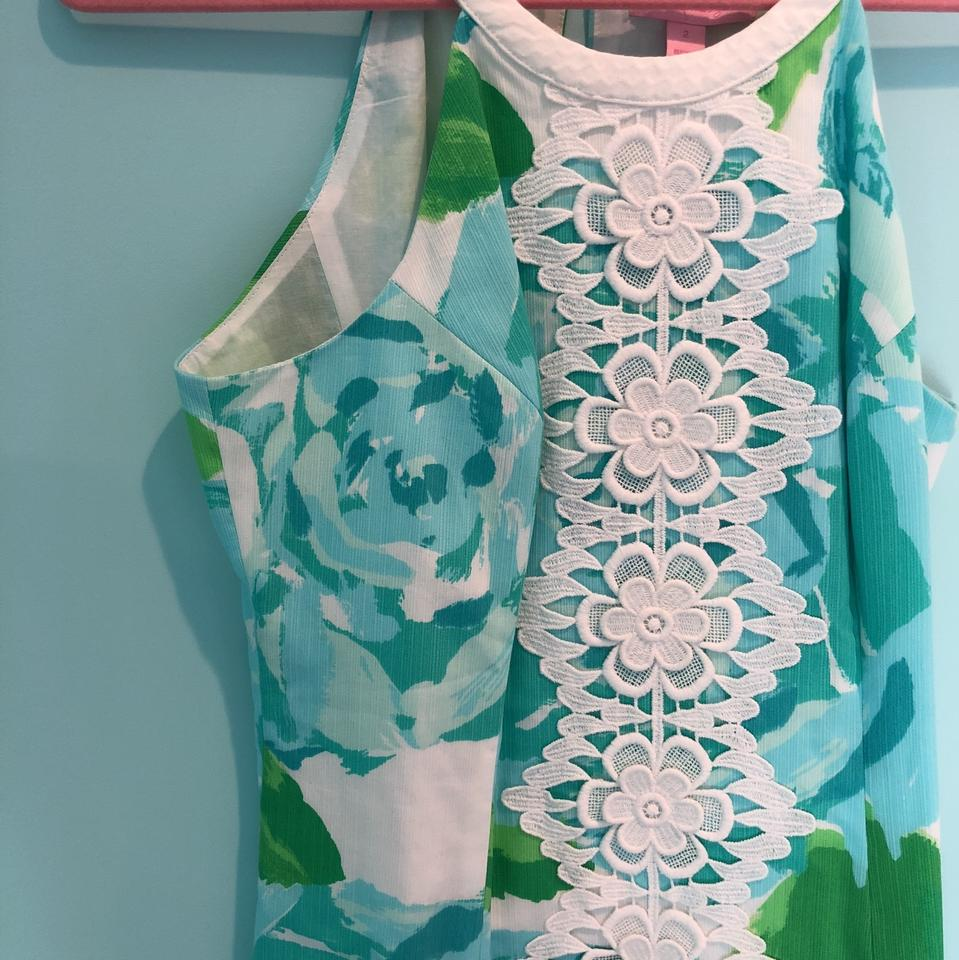 c4384307b7b6be Lilly Pulitzer First Inpression 91976 Short Casual Dress Size 2 (XS ...
