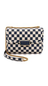 Marc by Marc Jacobs Checkered Chain Gold Hardware Cross Body Bag