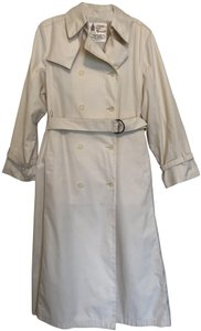 London Fog Full Length All Weatherher Classic Trench Raincoat