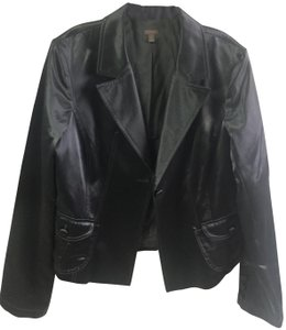 Halogen Metallic Chic Smoke Blazer