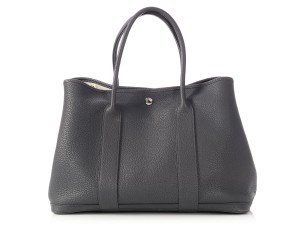 25688885ab Hermès Palladium Hr.p0116.11 Negonda Leather Slate Tote in Gray
