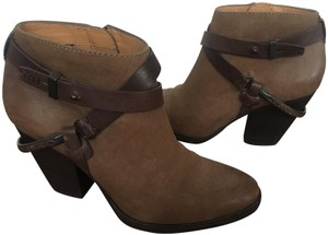 Dolce Vita Western Cowboy Leather Olive Boots