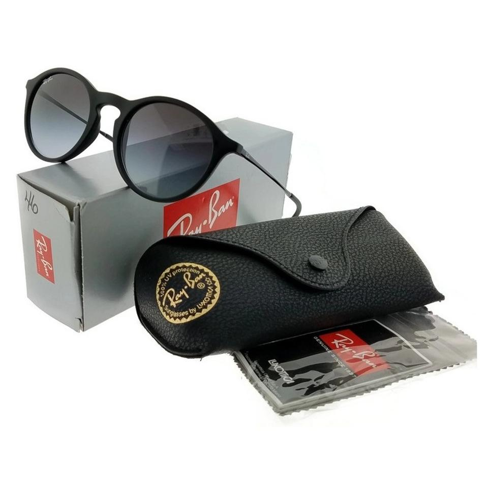 30c0f03863 Ray-Ban Frame - Black   Lens - Grey Rb4243-622-8g Youngster ...