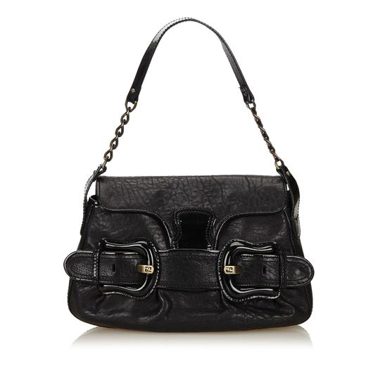 Preload https://img-static.tradesy.com/item/22929538/fendi-chain-black-leather-x-others-x-leather-x-patent-leather-shoulder-bag-0-0-540-540.jpg