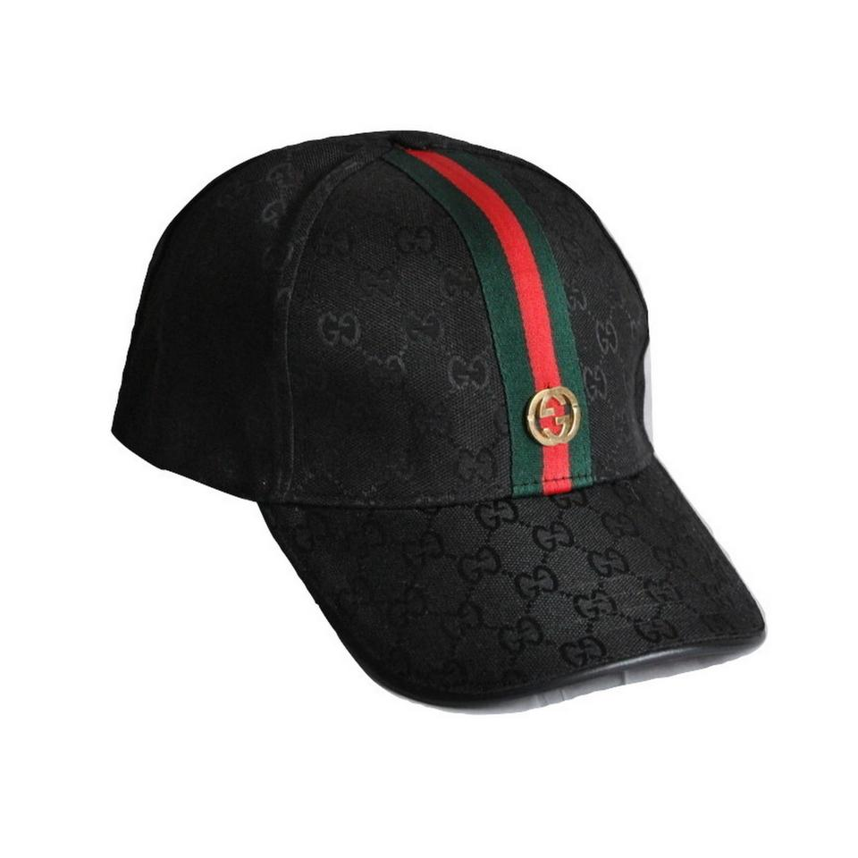061279bab5f Gucci Baseball Cap G G Signature Red Green Web Ribbon Hat Image 0 ...