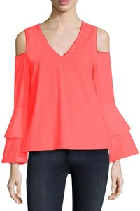 Waverly Grey Top Coral