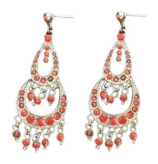 Other Red Crystal Earrings