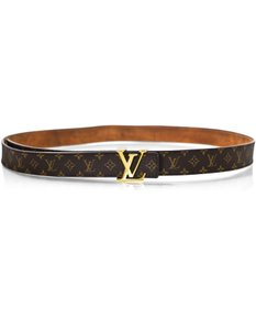 Louis Vuitton Louis Vuitton Monogram Belt Sz 85