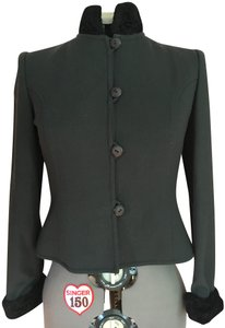 Chetta B Dark Grey with Black Trim Blazer