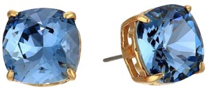 Tory Burch NEW!! Tags White Opal Gold Swarovski Crystal Stud Earrings NWT