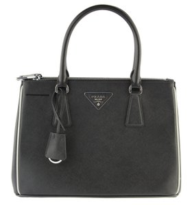 Prada Tote in Black and White