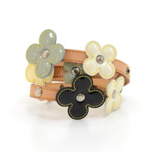 Louis Vuitton Louis Vuitton Flower Motif Belt In Multicolor Vernis Leather x Cowhide