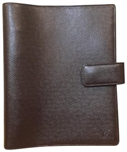 Louis Vuitton Louis Vuitton Taiga GM Agenda Day Planner Cover