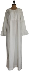 ecru Maxi Dress by April Cornell Wander Nighty Cotton Gown