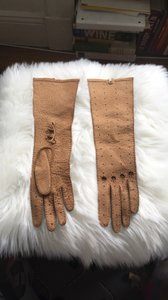 Louis Vuitton Long driving leather gloves