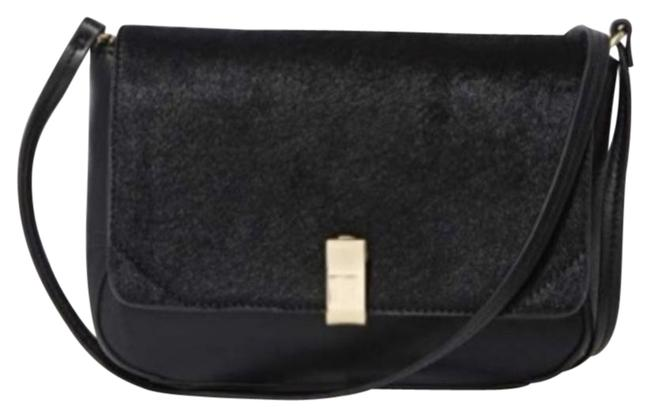 Item - New Sold Out Purse Small Iiibeca Black Pony Hair Leather Cross Body Bag