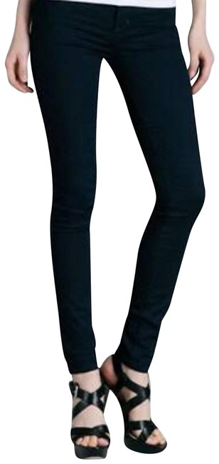 Marc by Marc Jacobs Blue Dark Rinse Jac Legging In Skinny Jeans Size 26 (2, XS) Marc by Marc Jacobs Blue Dark Rinse Jac Legging In Skinny Jeans Size 26 (2, XS) Image 1