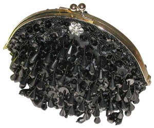 PurseN Evening Prom Afterfive Party Date Night Black Clutch