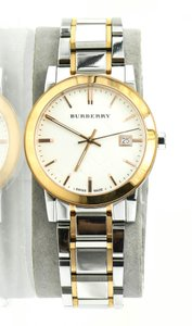 Burberry Burberry BU9006 The City Two Tone Stainless Steel Watch