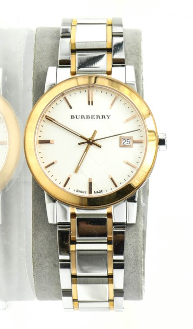 Item - * Rose Gold and Stainless Steel Bu9006 The City Two Watch