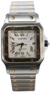 Cartier Cartier Santos Galbee 29mm Two Tone Watch 2319