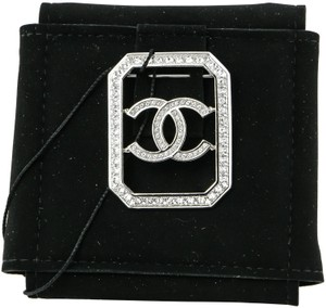 Chanel Chanel Crystal CC Crystal Brooch Pin
