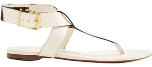 Burberry White Sandals