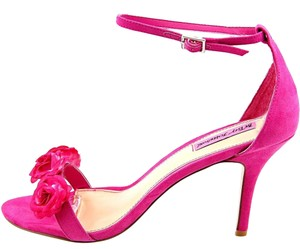 Betsey Johnson Pink Sandals