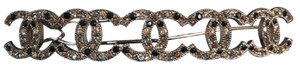 Chanel New with tag 16P Crystal barrette headwear