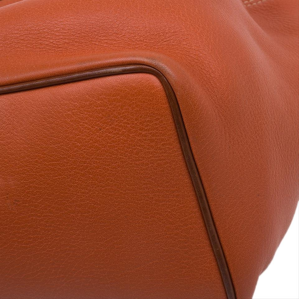 04a1851ec4 Mulberry Judy Glove Leather Tote in orange Image 11. 123456789101112