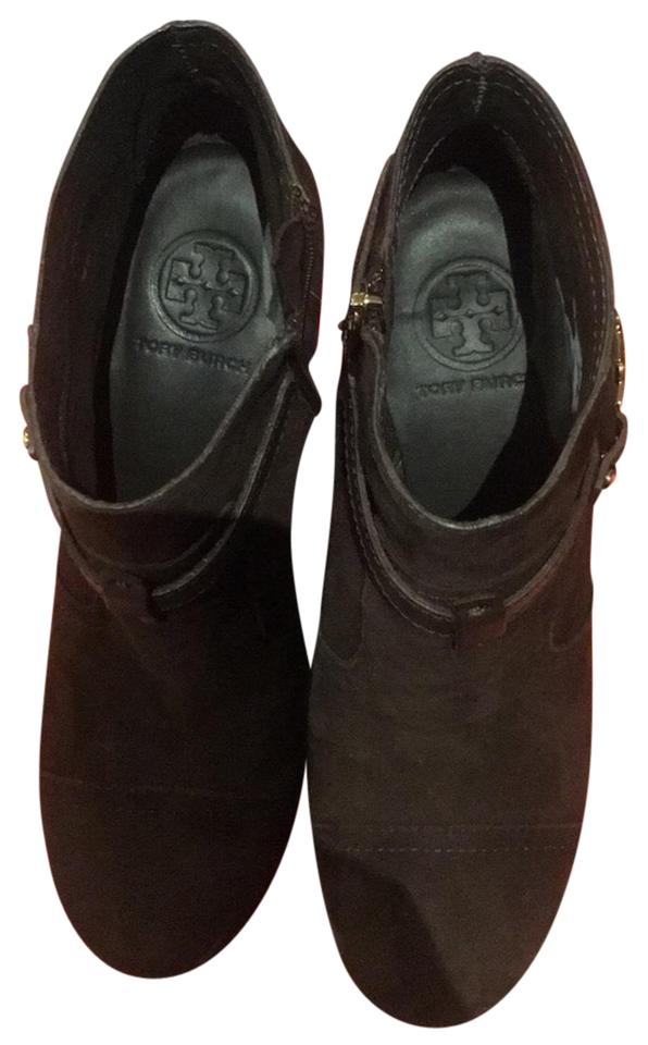 Tory Burch Boots/Booties Brown Arden Wedge - Soft Suede 22118684 Boots/Booties Burch 5cb64d