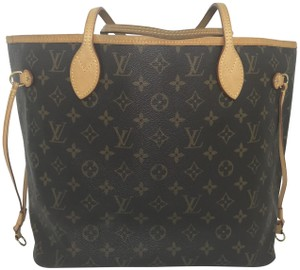 Louis Vuitton Lv Neverfull Neverfull Monogram Tote in Brown