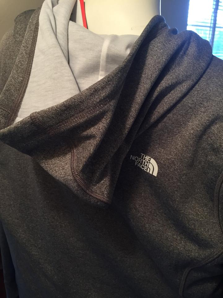 5c36fc5a8 The North Face Heather Grey Our Ite Hoodie Women Activewear Size 22 (Plus  2x) - Tradesy