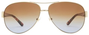 Tory Burch Aviator Metal Frame Sunglasses