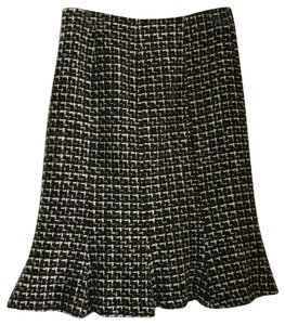 Charles Gray London Skirt Black and White