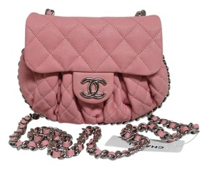 Chanel Strap Drop 25.5 Calfskin Cross Body Bag