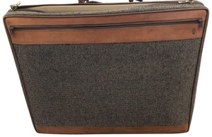 Hartmann Tweed Brown and Tan Travel Bag
