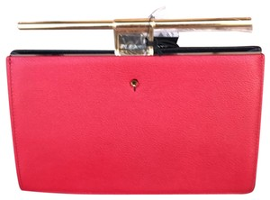 The Volon black gold red Clutch