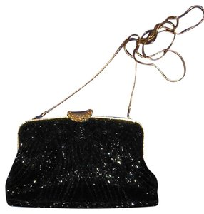 PurseN Evening After Five Party Formal Special Occasion Black Clutch