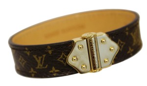 Louis Vuitton LOUIS VUITTON Monogram Canvas Nano Bracelet Size 17