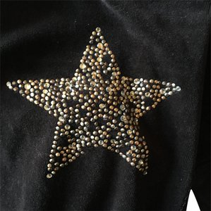 Twisted Heart Crystal Star Pants