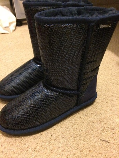Bearpaw blue/sequin Boots